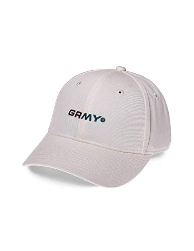 GRIMEY Gorra COUNTERBLOW Curved Visor Cap SS18 Coconut White-Strapback