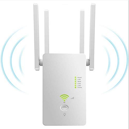 Yajun Extensor WiFi 1200mbps Mini Banda Dual 2,4 GHz 5,8 GHz Repetidor...