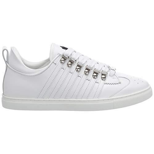 Dsquared2 Herren 251 Sneaker Bianco 40 EU