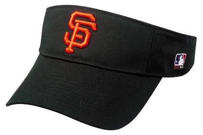 OC Sports San Francisco Giants Visor