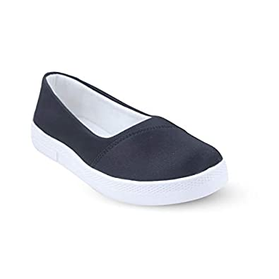 A-19 Stylish Canvas Slip On Loafers, Moccasin for Women, Girls