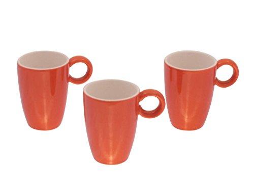 Espressotasse orange Set