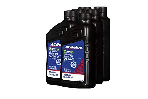 AC Delco 19418206 GM Original Equipment dexos1 5W-30 Full Synthetic Motor Oil