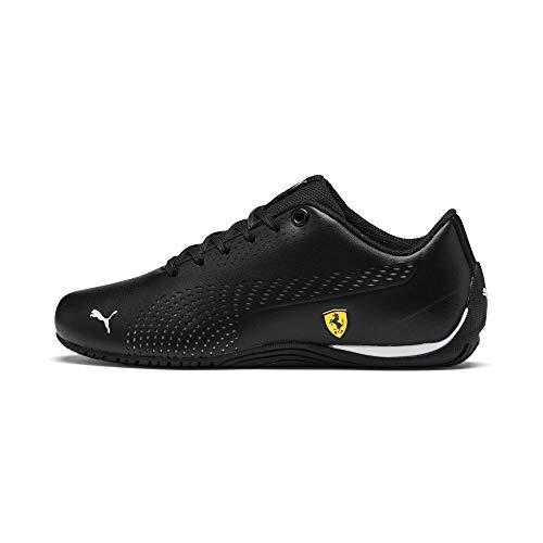 PUMA Ferrari Drift Cat 5 Ultra II Youth Sneaker Puma Black-Puma White UK 4.5_Youth_FR 37.5