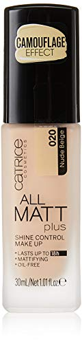 Catrice - Foundation - All Matt Plus Shine Control Make Up - Nude Beige 020