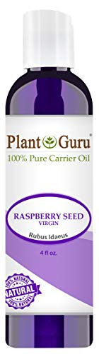 Raspberry Seed Oil 4 oz. Virgin, Unrefined Cold Pressed 100% Pure Natural - Skin, Body And Face. Great for Psoriasis & More!