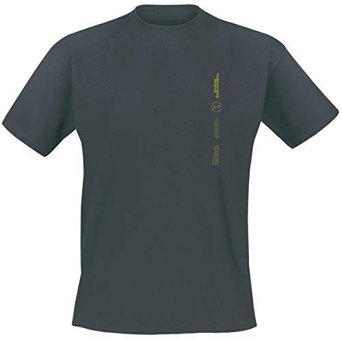 Twenty One Pilots Big Logo T-Shirt Cenere/Nero L