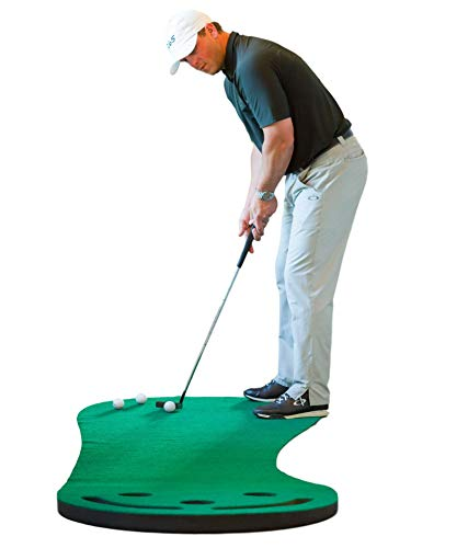 Shaun Webb's Putting Green Indoor Mat 9'x3' - Elevate Your Putting Game While Having Hours...