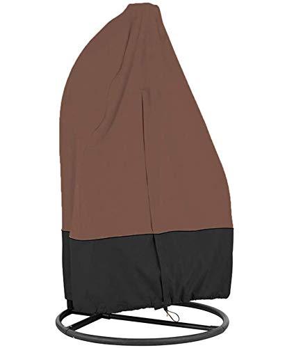 H.aetn Funda para Silla Colgante para Patio - Funda para Silla Tipo Huevo - para Silla con Asiento Columpio - Funda Protectora Impermeable para Muebles - para Silla oscilante Doble (230 * 200 cm)