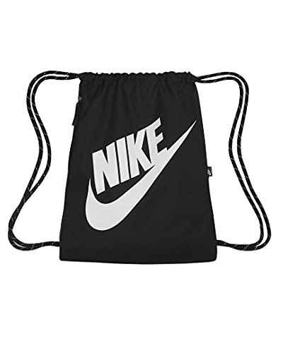 Nike Heritage Gymbag Gymsack (one size, black/white)
