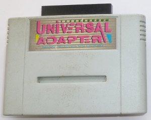 THE UNIVERSAL GAMES ADAPTER PARA JUEGOS DE SUPER NINTENDO