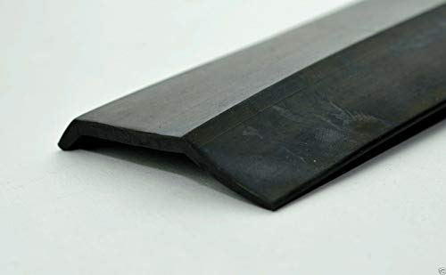 Affordable Garage Door Bottom Weather Stripping - for Wood Garage Doors - Dense Rubber (for 12' Wide...