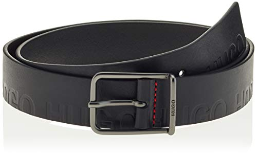 HUGO Mens Gal-G_ Logo_Sz35 Belt, Black(001), 95