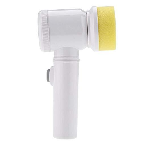 Elektrische Reinigungsbürste, Tragbarer Power-Handhold-Wiederaufladbare, Ausziehbares, Sauberes Werkzeug Mit 3 BüRsten Für Bad-Dusche-Bidet