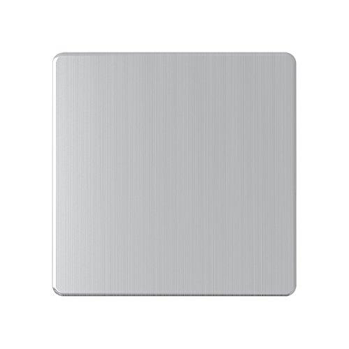AET sl1gbp schraubenlos Single Abdeckplatte