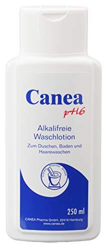 Pharma-Peter CANEA pH6 alkalifreie Waschlotion seifenfrei und rückfettend, 250 ml