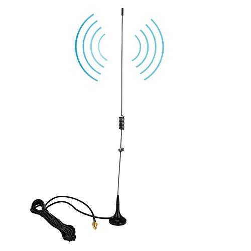 DAUERHAFT Antena de Cable coaxial SMA-Hembra de Doble Banda VHF/UHF Magnética, para Radio, para Baofeng UV-5R, para Radio bidireccional