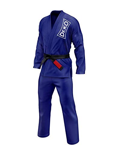 Dr. K.O. Kimono Jiu Jitsu BJJ GI (Azul, A3)