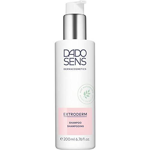 Dado Sens ExtroDerm Shampoo 200ml - beruhigende sanfte Reinigung für trockene, schuppige und empfindliche Kopfhaut