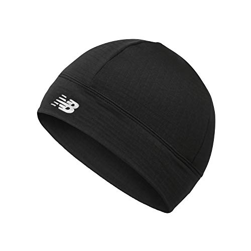 New Balance Men's and Women's Athletic Running Cap, Lightweight and Breathable Hat Black