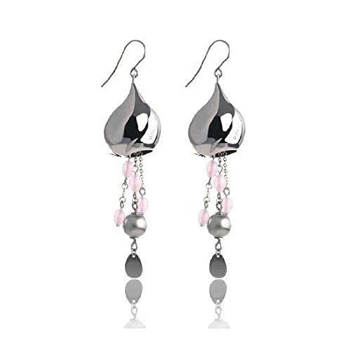 Breil Bloom women's earrings from stainless steel-TJ0838