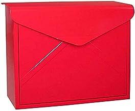 Gemakkelijk te installeren brievenbus, opbergpot Post Box Wandmontage Wandgemonteerde brievenbus brievenbus Europese krant...