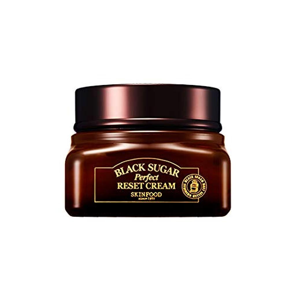 故障前部補足Skinfood 黒糖パーフェクトリセットクリーム/Black Sugar Perpect Reset Cream 60ml [並行輸入品]