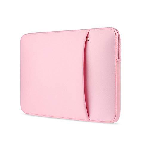 Laptop Sleeve 11 12 13 14 15 15 6 inch notebook case Soft bag For Macbook Air Pro Retina Ultrabook 12 9 Tablet Pocket@Red wine_For Macbook15 Retina