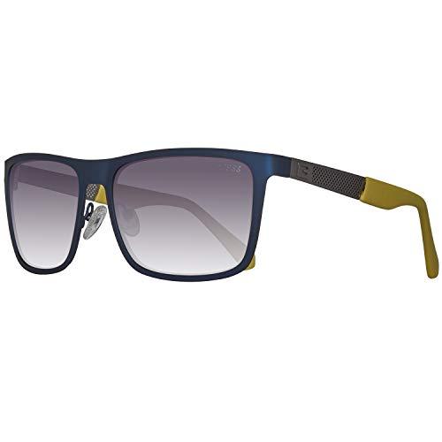 Guess Sonnenbrille Gu6842 91b 57 Montures de lunettes, Bleu (Blu/Giallo), Femme