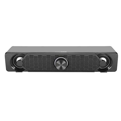 Dpofirs 5W * 2 Mini Barra de Sonido Estéreo de Música para Computadoras, USB Altavoces Universales...