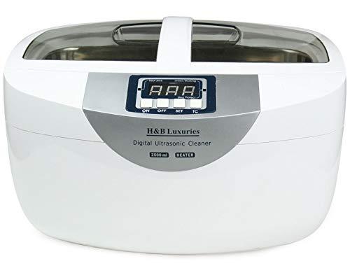 H&B Luxuries Industrial Grade Digital Heated Ultrasonic Cleaner