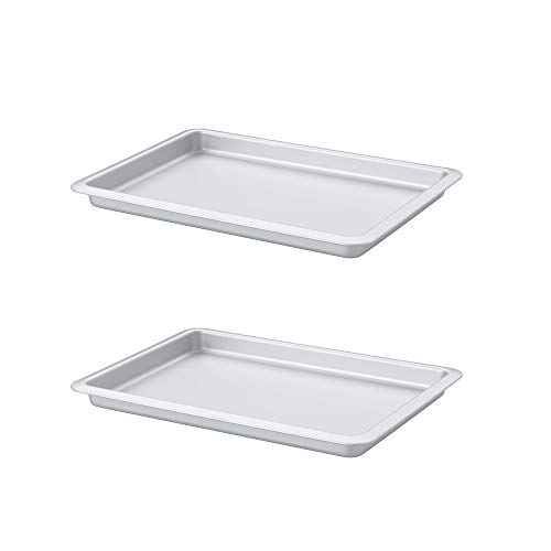 Ikea Vardagen Backform, silberfarben Pack of 2, 15x10