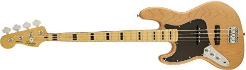 Fender Bajo Squier Vintage Modified Jazz Bass '70s, Maple Fingerboard,