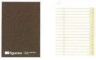 アピカ フィグラーレ 付箋式リストメモ 120×85 チェックリスト 茶 ME510C / 10セット