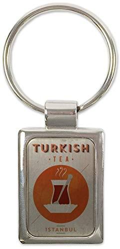 Schlüsselanhänger Retro Limonade Küche Türkischer Tee Bedruckt