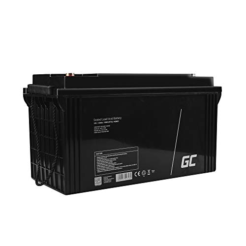 GreenCell® Puissante batterie solaire 12V 120Ah