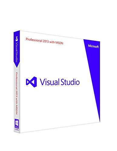 Microsoft Visual Studio Professional 2013 with MSDN 通常版