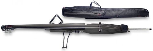 Stagg EDB-3/4 BK - Bajo eléctrico (3/4, con bolsa incluida), color negro