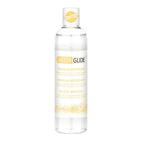 Gleitgel Waterglide, wasserbasierte Langzeitwirkung, Vanille-Aroma, 300 ml