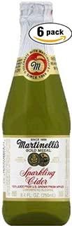 Martinelli's Gold Medal Sparkling Cider, 8.4 OZ Jar (Pack of 6, Total of 50.4 Oz)
