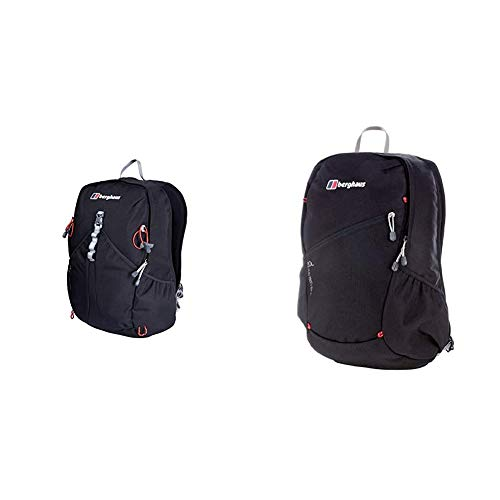 Berghaus TwentyFourSeven Plus 25 Litre Outdoor Rucksack Backpack, Black & TwentyFourSeven Plus 20 Litre Outdoor Rucksack Backpack, Black