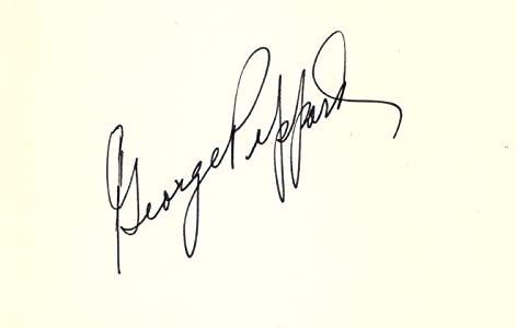 George New products Max 48% OFF world's highest quality popular Peppard - Signature
