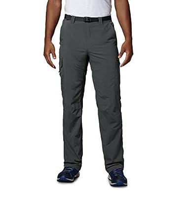 Columbia Men's Men's Silver Ridge Cargo Pant , Grill, 34x32