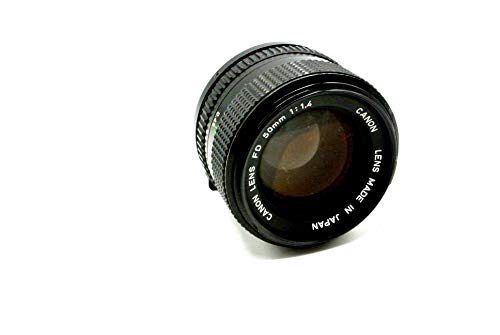 Canon 50mm f/1.4 FD Manual Focus Lens