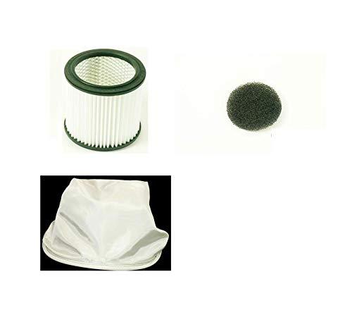 Parkside 3 Filter Set Aschesauger/Kaminsauger LIDL PAS500A1, PAS500B1, PAS500D2, PAS500D3 Vorfilter Luftfilter Faltenfilter Lamellenfilter PAS 500 A1 B1 D2 D3