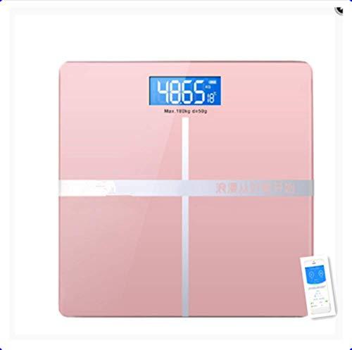 Bascula GrasaEscalas Bluetooth Escala de grasa corporal Piso Científico Inteligente Electrónico Retroiluminado Led Digital Peso corporal Baño