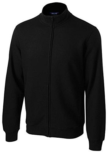 Sport-Tek ST259 Full-Zip Sweatshirt, Black Large