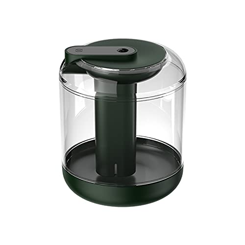 LKJHGFD RUNSHIBAIHUODIAN Humidificador de Aire de Gran Capacidad Recargable 2000mAh Aroma a batería Difusor de Aceite Esencial Mist Mist Maker LED Luz para el hogar (Color : Green 0)