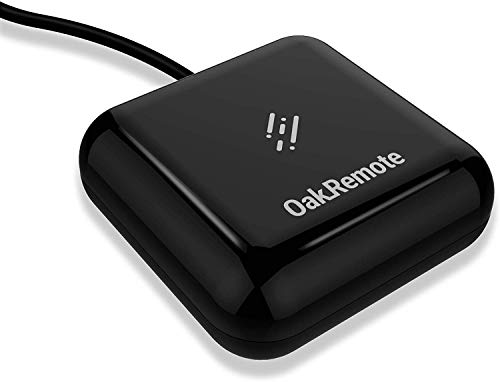 OAKTER Oakremote - WiFi Universal Remote OakRemote V2 with Amazon Alexa Compatibility (IR Blaster, Black)
