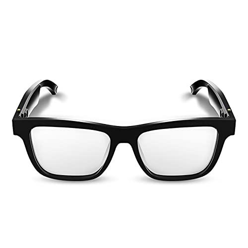 Gafas de Sol con Audio Bluetooth, Gafas polarizadas UV400, Gafas Inteligentes Manos Libres con micrófono, adecuadas para Conducir, Viajar, Actividades al Aire Libre, Unisex